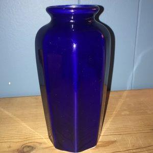 Accents - Blue Pheasant Vase